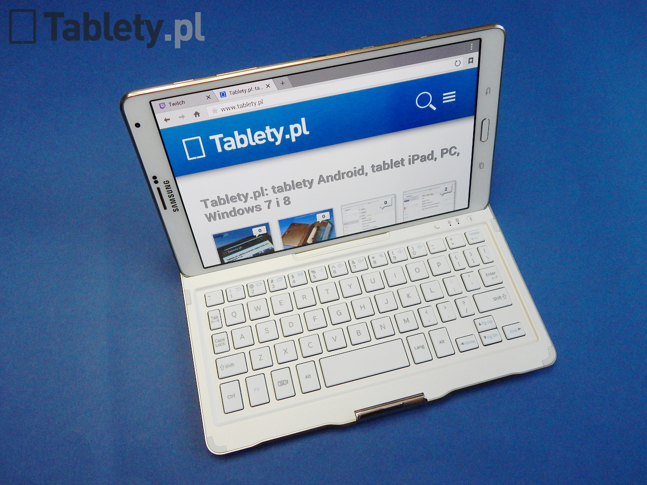 Galaxy Tab S Bluetooth Keyboard 14