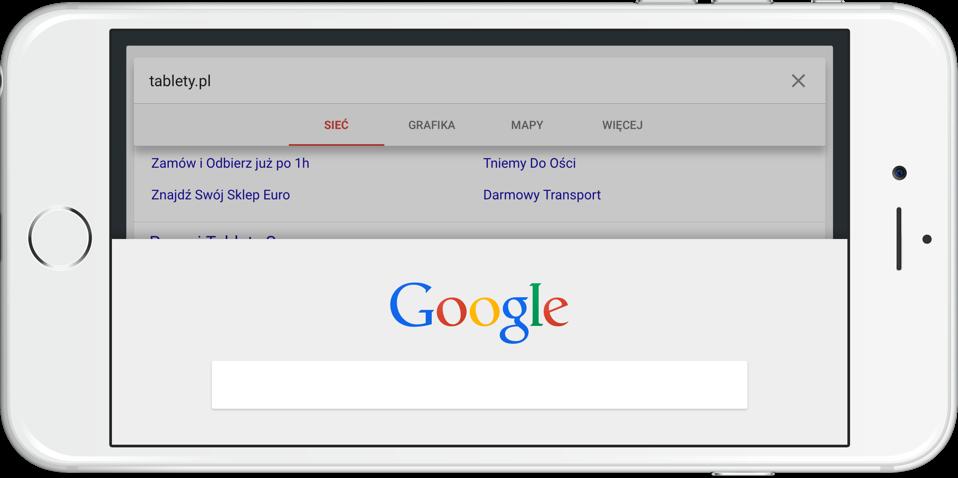 Google na iOS z Material Design