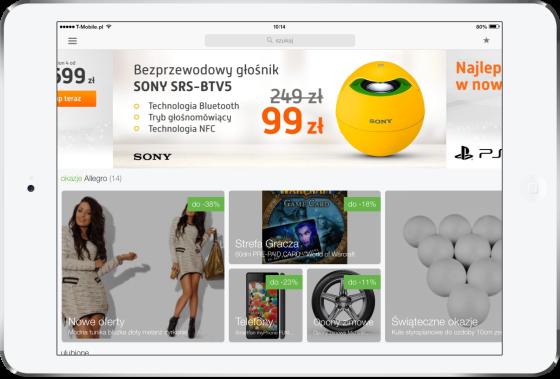 Allegro na iOS