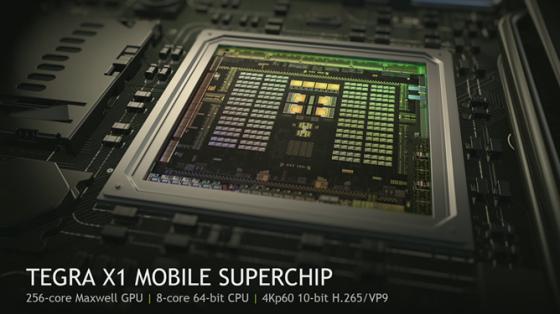 SoC Nvidia Tegra X1