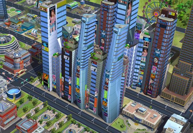 SimCity BuiltIt Tokyo Town