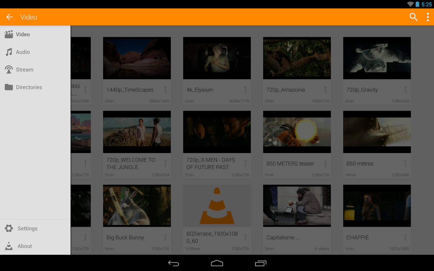 how to cut video in vlc android