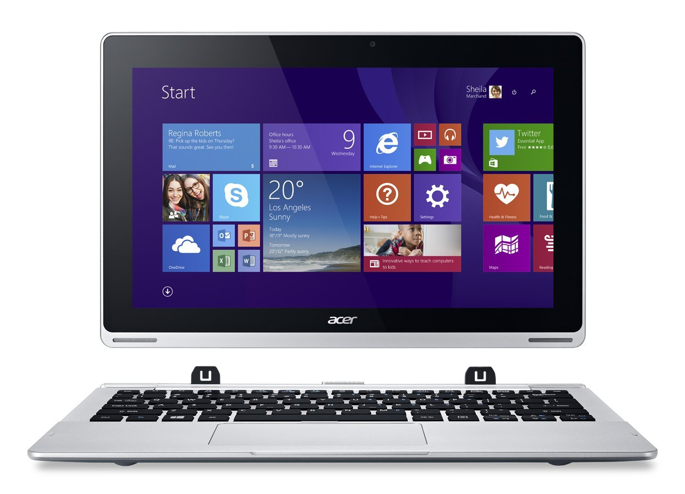 Acer Aspire Switch 11 SW5-173 z Intel Core M-5Y10c