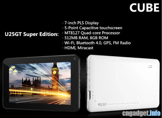 Cube U25GT Super Edition