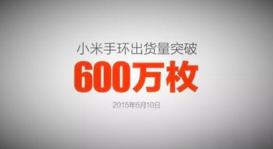 Xiaomi Mi Band 6 mln