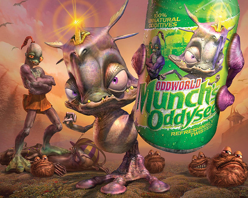 Oddworld Munch's Oddyssee