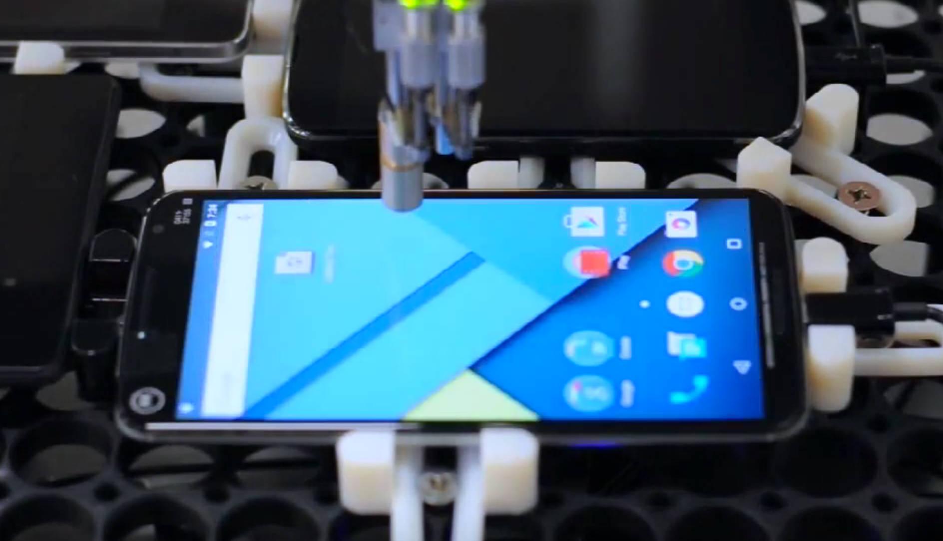 Chrome TouchBot