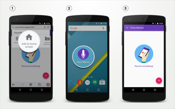 Opera na Androida