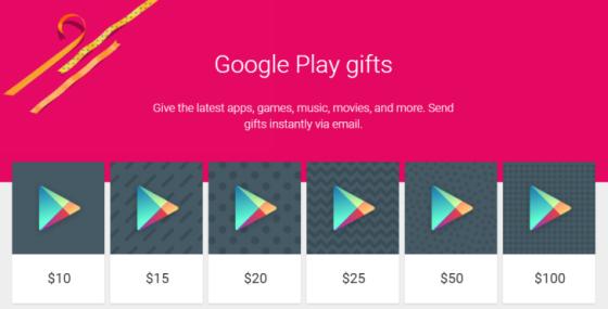 Google Wprowadza W Google Play Cyfrowe Karty Podarunkowe Tablety Pl