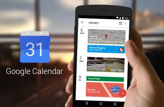 Google Kalendarz