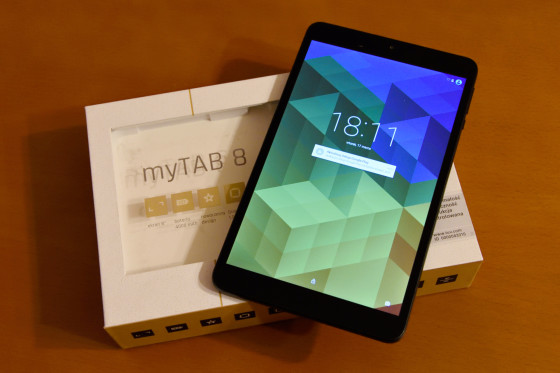 myPhone myTab 8
