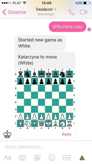 facebook szachy