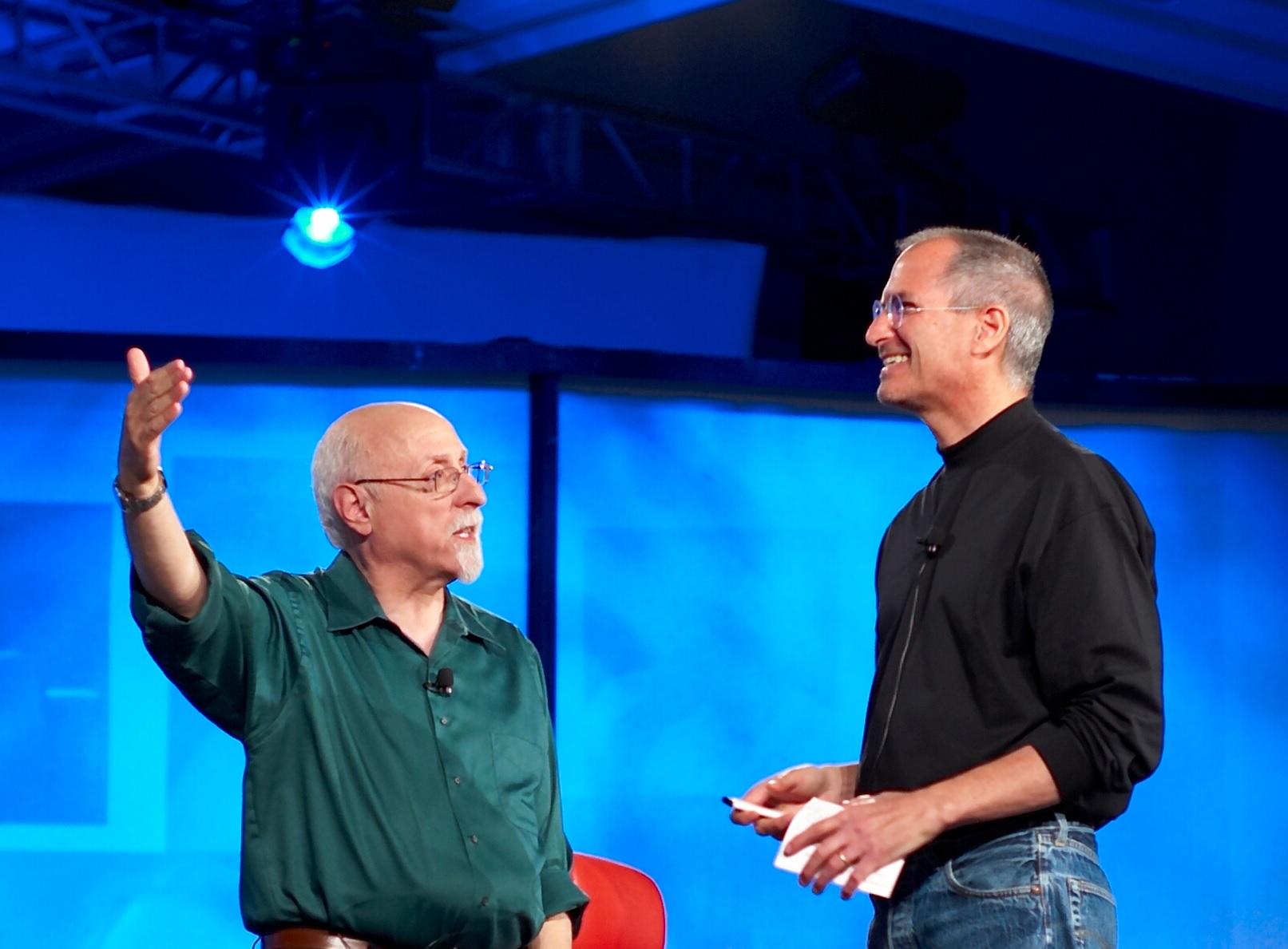 Steve Jobs Walt Mossberg