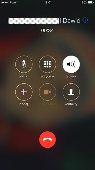iPhone nagrywanie rozmów visual voicemail
