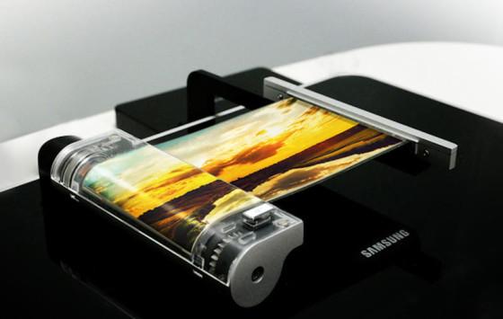 Elastyczne ekrany Samsung