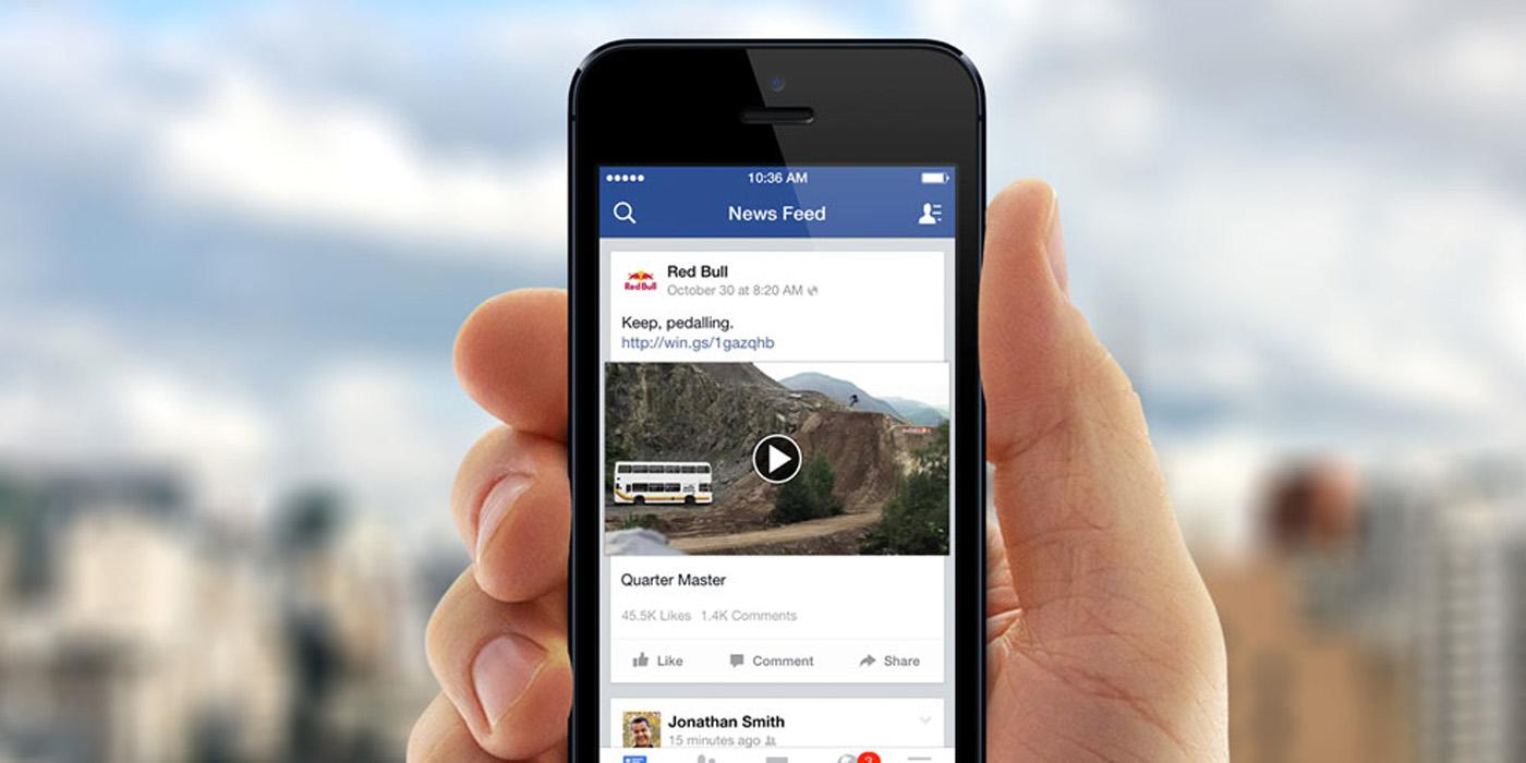 Facebook wideo