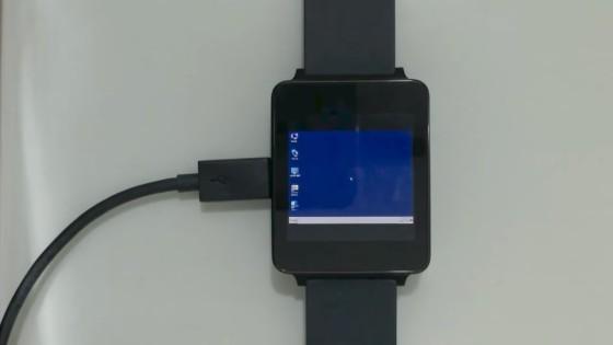 Windows 7 na smartwatchu