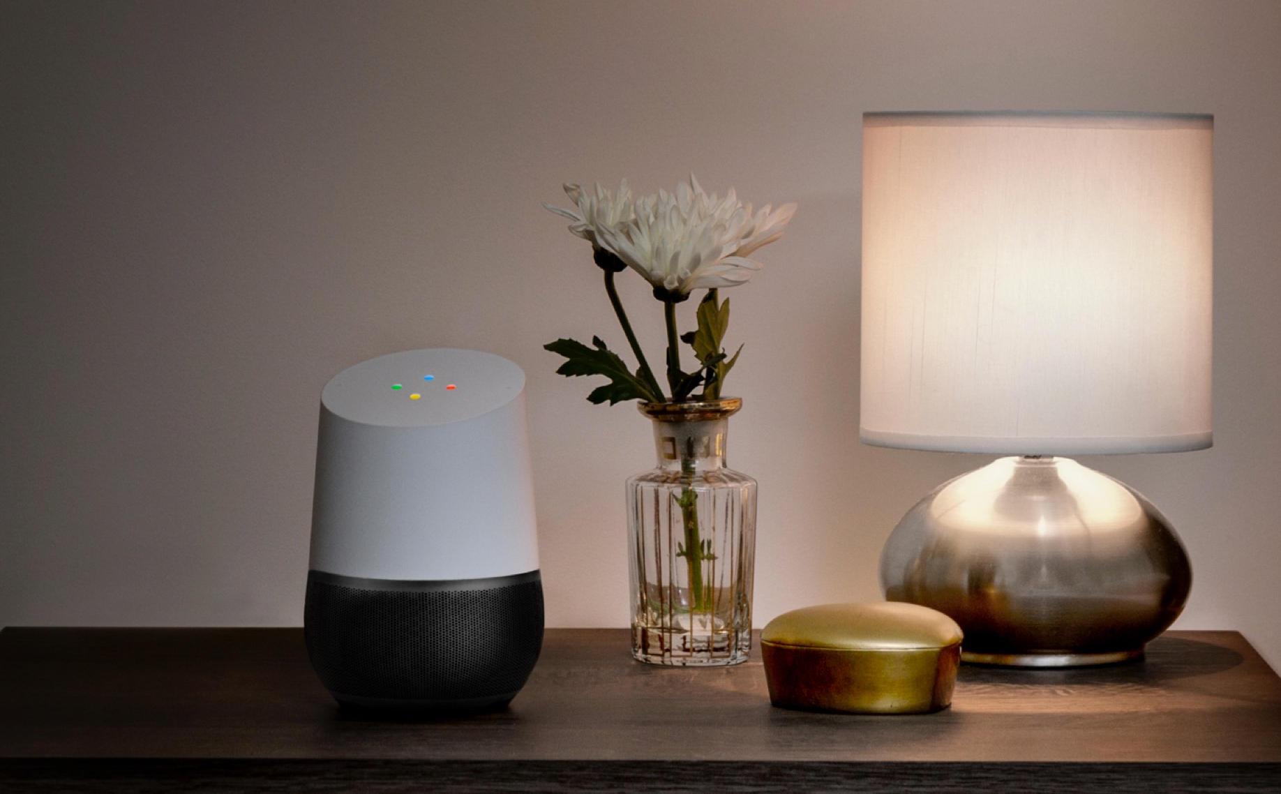 Asystent Google Home oświetlenie inteligentne żarówki