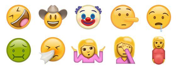 emoji unicode 9.0