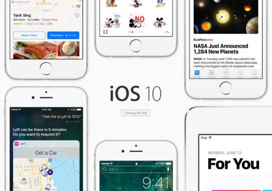 iOS 10 iOS 10.3