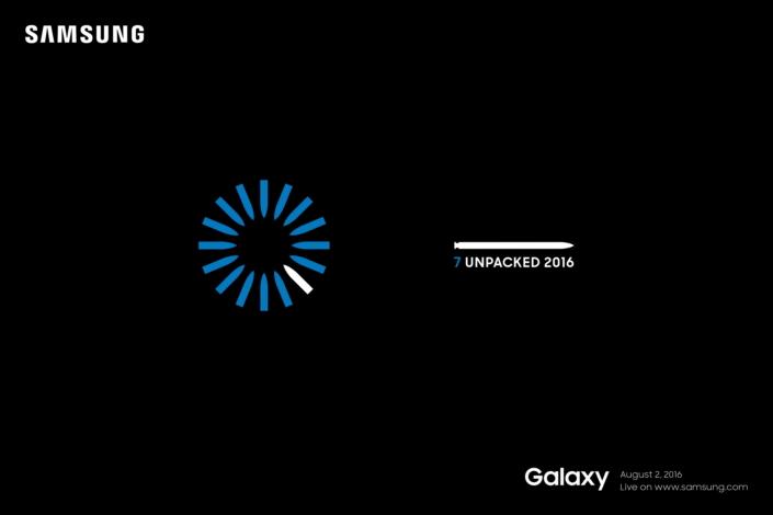 Samsung Galaxy Note 7 Unpacked