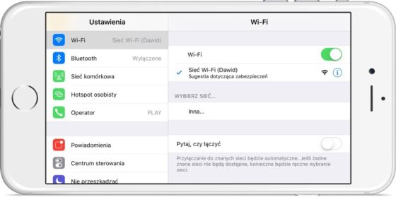 iOS 10 Wi-Fi