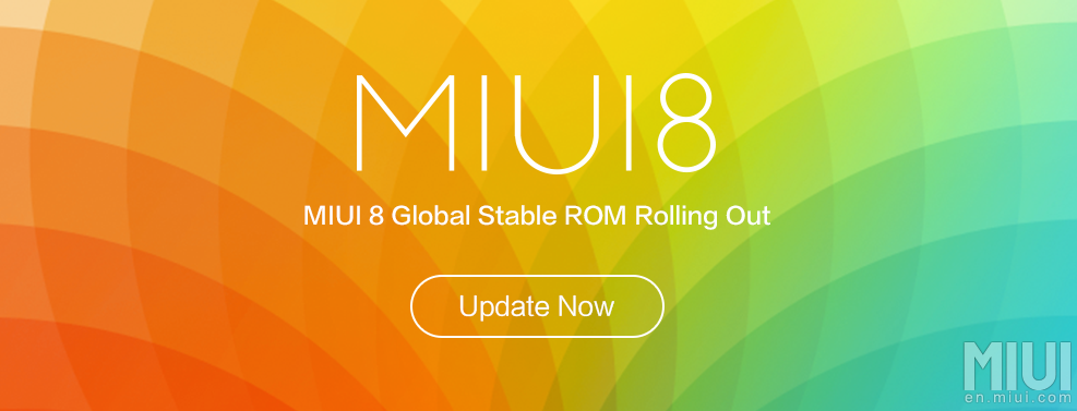MIUI 8 GLOBAL STABLE ROM