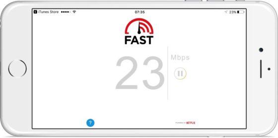 Fast Speed Test Netflix App