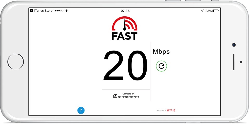 Fast Speed Test Netflix App