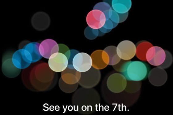 Apple iPhone 7 konferencja