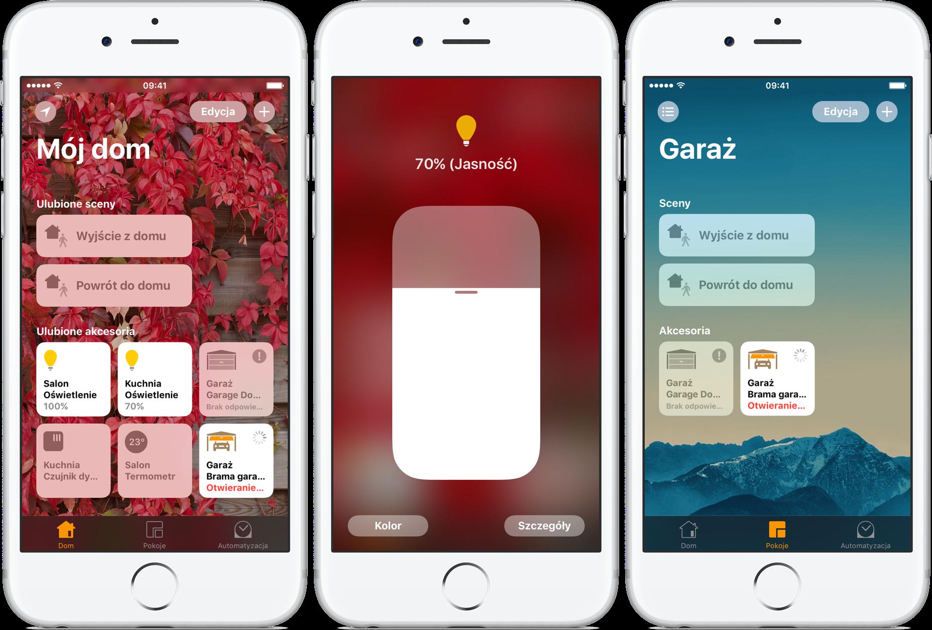 Dom Home iOS 10 aplikacja