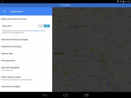 Mapy Google 9.34.1 Tylko Wi-Fi