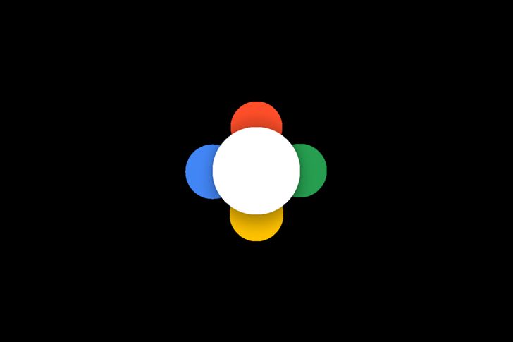Google Assistant animacja