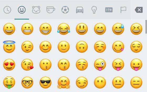 Whatsapp beta emoji