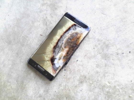 Eksplodujący Samsung Galaxy Note 7