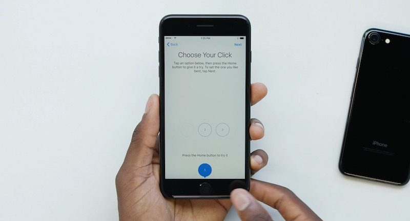 iPhone 7 przycisk Początek