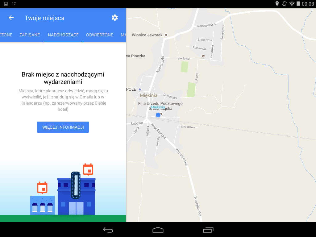 Mapy Google 9.38 beta