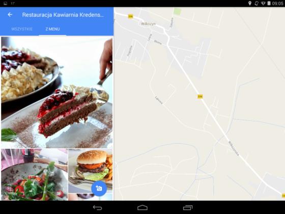 Mapy Google 9.38 beta