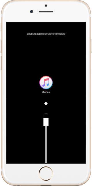 Apple iPhone iTunes przywracanie