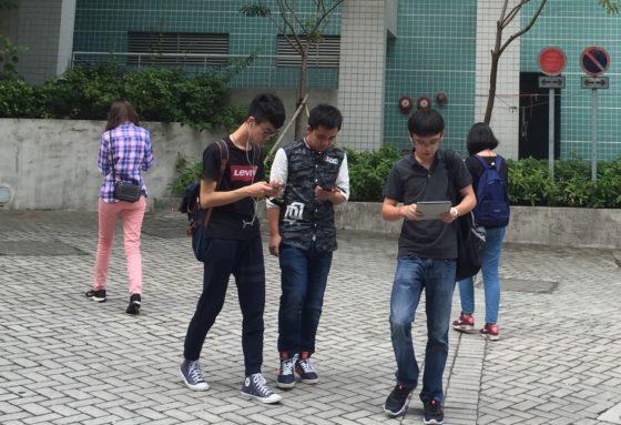 kręgarze smartfony