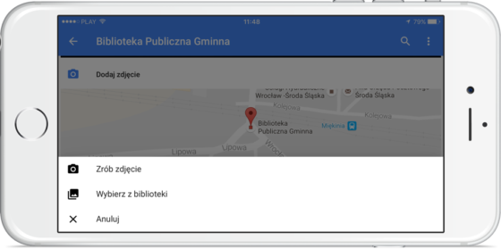 Mapy Google na iOS 10
