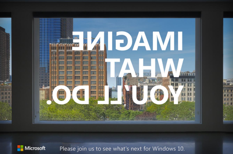 Microsoft Event Surface Windows 10