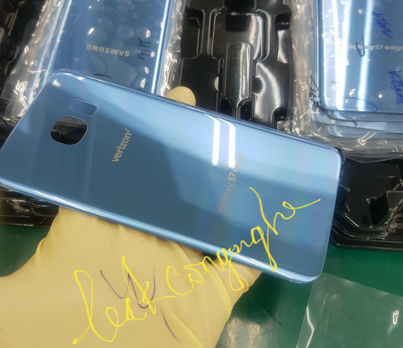Samsung Galaxy S7 edge Blue Coral niebieski