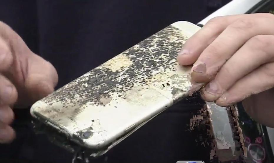 Wybuchowy iPhone 6 Plus