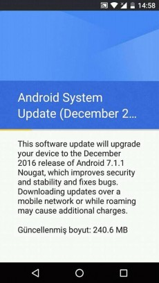 Android 7.1.1 Nougat Android One