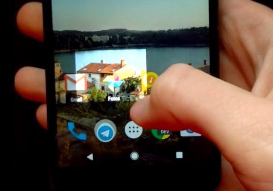 Android 7.1 Nougat zrzuty ekranowe