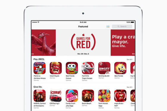Apple Product Red walka z AIDS