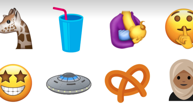 Nowe emoji Unicode 10