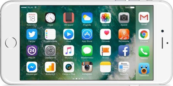 iOS 10.2.1 aktualizacja