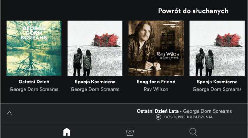 Spotify na Androida
